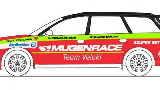 Új színekben az új csapat: Mugen Race Team Veloki